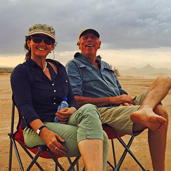 Emma & Will Craig - Lewa Wilderness, Kenya