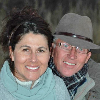 Andre & Monique Louw - Mowani Mountain Camp, Namibia